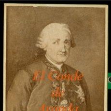 Fotografía antigua: EL CONDE DE ARANDA - FOT. VDA. AMAYRA FERNANDEZ - MADRID. Lote 182425462