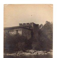 Fotografía antigua: SANTANDER.(CANTABRIA).- CASA DE LOS BUSTAMANTES DE LEMIJAS. 17 X 12,5.. Lote 182572537