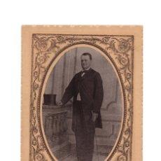 Fotografía antigua: FOTO CABINET.- ESTUDIO FOTOGRÁFICO TOMÁS RUIZ. CÓRDOBA.10,5X16.. Lote 182625171