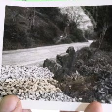 Fotografía antigua: FOTOGRAFIA CAMINO FOTOGRAFIA ORIGINAL ANTIGUA. Lote 182776390