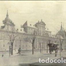 Fotografía antigua: EL ESCORIAL (MADRID). POR VIAJERO FRANCÉS EN 1898. ORIGINAL DE ÉPOCA. TAMAÑO 8,3X13,8 CM.. Lote 183565321
