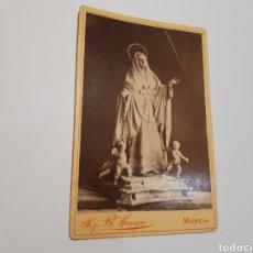 Fotografía antigua: FOTO VIRGEN. MURCIA. Lote 183618455