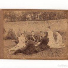 Fotografía antigua: FOTO CABINET.- ESTUDIO FOTOGRÁFICO. DESCONOCIDO.16,5X11.. Lote 183655440