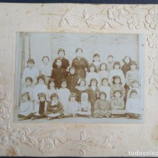 Fotografía antigua: VALENCIA FOTOGRÁFO DESCONOCIDO FOTO DE COLEGIO. Lote 183692228