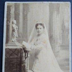Fotografía antigua: VALENCIA FOTOGRAFO JULIO DERREY. Lote 183692628