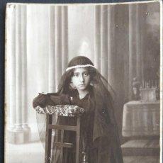 Fotografía antigua: VALENCIA FOTÓGRAFO A. IBAR. Lote 183693195