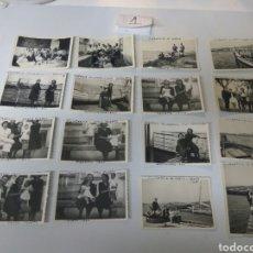 Fotografía antigua: FOTOS FOTOGRAFÍAS ANTIGUAS VILLAGARCÍA DE AROUSA PONTEVEDRA GALICIA LOTE DE 16. Lote 183702406