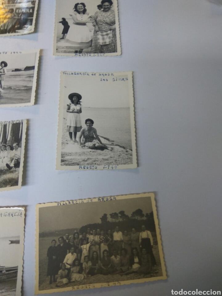 Fotografía antigua: FOTOS FOTOGRAFÍAS ANTIGUAS VILLAGARCÍA DE AROUSA PONTEVEDRA GALICIA LOTE DE 15 - Foto 2 - 183703517
