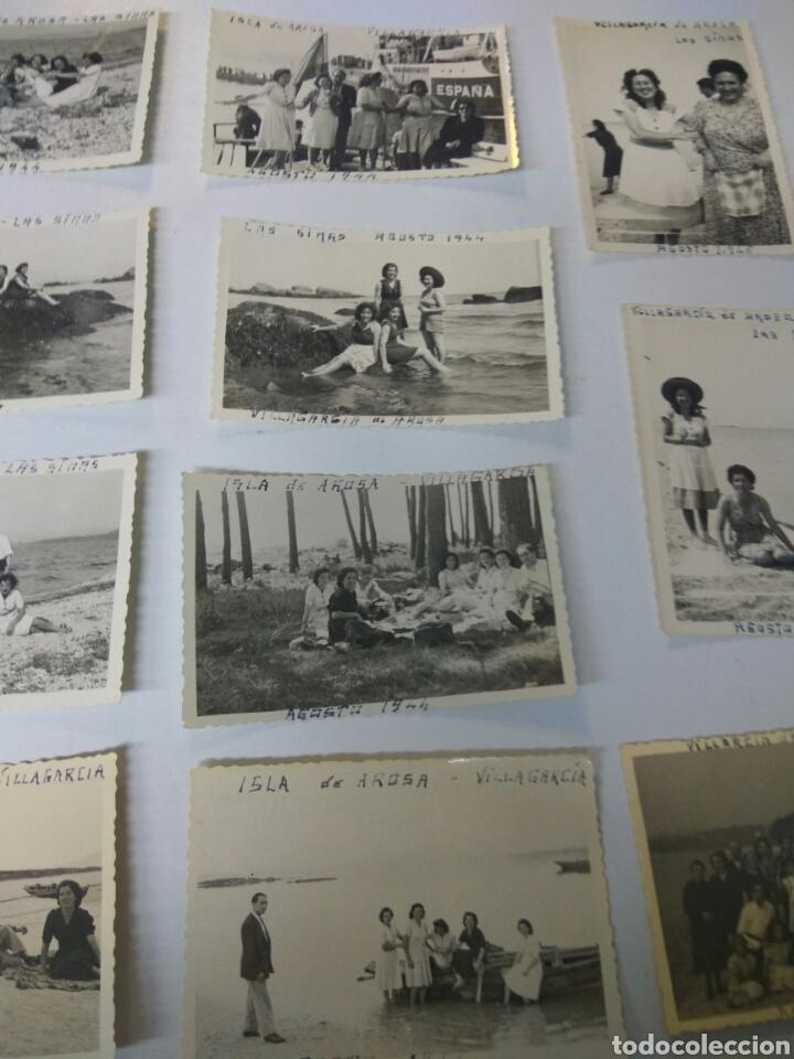 Fotografía antigua: FOTOS FOTOGRAFÍAS ANTIGUAS VILLAGARCÍA DE AROUSA PONTEVEDRA GALICIA LOTE DE 15 - Foto 3 - 183703517
