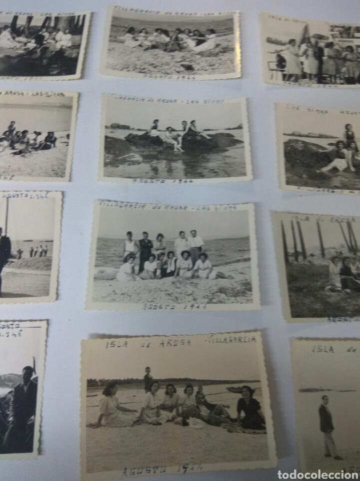 Fotografía antigua: FOTOS FOTOGRAFÍAS ANTIGUAS VILLAGARCÍA DE AROUSA PONTEVEDRA GALICIA LOTE DE 15 - Foto 4 - 183703517