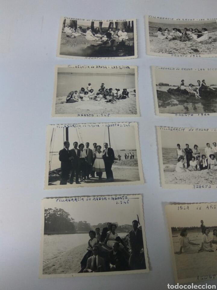 Fotografía antigua: FOTOS FOTOGRAFÍAS ANTIGUAS VILLAGARCÍA DE AROUSA PONTEVEDRA GALICIA LOTE DE 15 - Foto 5 - 183703517