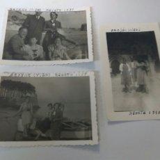 Fotografía antigua: FOTOS FOTOGRAFÍAS ANTIGUAS VIGO GALICIA AÑOS 1939-1953 LOTE DE TRES. Lote 183706175