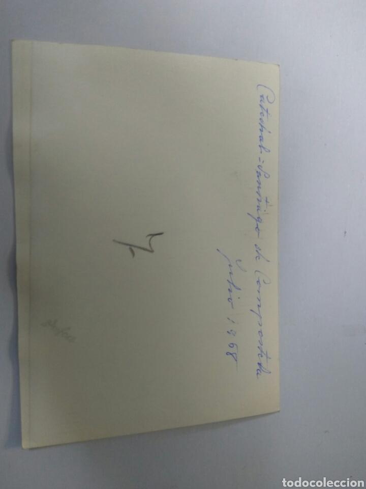 Fotografía antigua: FOTO ORIGINAL CATEDRAL SANTIAGO DE COMPOSTELA AÑO 1968 - Foto 2 - 183707081