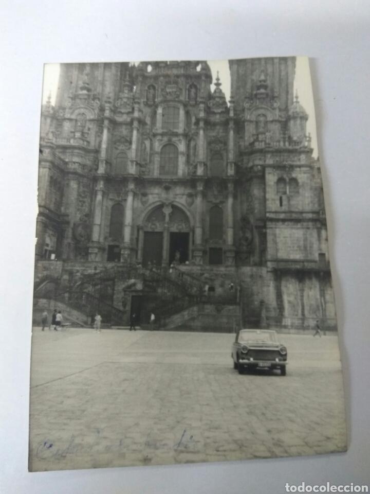 FOTO ORIGINAL CATEDRAL SANTIAGO DE COMPOSTELA AÑO 1968 (Fotografía Antigua - Albúmina)