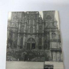 Fotografía antigua: FOTO ORIGINAL CATEDRAL SANTIAGO DE COMPOSTELA AÑO 1968. Lote 183707081