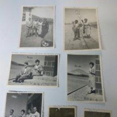 Fotografía antigua: FOTOS FOTOGRAFIAS ANTIGUAS TENERIFE TEIDE AÑO 1955 LOTE DE SIETE. Lote 183708861