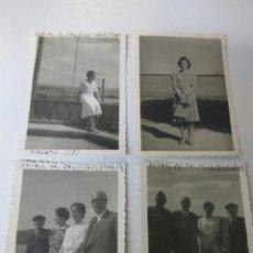 Fotografía antigua: FOTOGRAFIAS ANTIGUAS FERROL DEL CAUDILLO CORUÑA AÑO 1939 LOTE DE CUATRO. Lote 183721955
