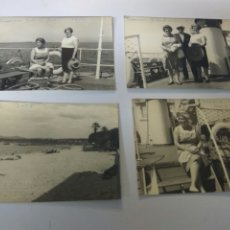 Fotografía antigua: FOTOGRAFIAS ANTIGUAS LA CORUÑA AÑO 1968 LOTE DE CUATRO. Lote 183722927