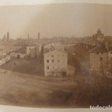 Fotografía antigua: ZARAGOZA ESCENAS DE LA CIUDAD LUCIEN LEVY FOTOGRAFO 8 ALBUMINAS SIGLO XIX. Lote 183740530