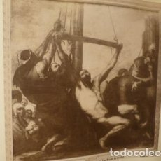Fotografía antigua: MADRID MUSEO DEL PRADO SAN BARTOLOME Y MARTIRIO RIBERA FOTOGRAFO J. LAURENT 2 ALBUMINAS SIGLO XIX. Lote 183741048