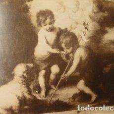 Fotografía antigua: MADRID MUSEO DEL PRADOSAN JUAN BAUTISTA SAN BERNA MURILLO FOTOGRAFO J. LAURENT 2 ALBUMINAS SIGLO XIX. Lote 183741257