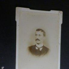 Fotografía antigua: RETRATO CABALLERO . Lote 183745981