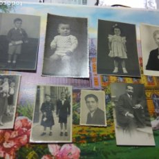 Fotografía antigua: FOTOGRAFIAS ANTIGUAS SELLO FOTOGRAGO AL DORSO LAS PALMAS BARCELONA....LOTE DE 7. Lote 183763357