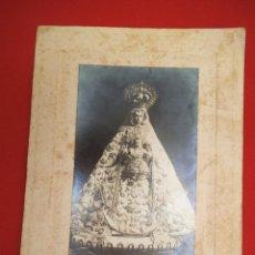 Fotografía antigua: FOTO DE UNA VIRGEN A IDENTIFICAR. Lote 183829740