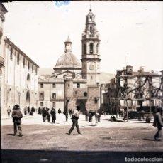 Fotografía antigua: ALCOY NEGATIVO DE CRISTAL. Lote 183922096