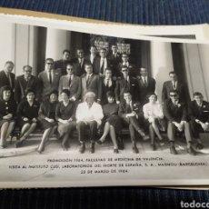 Fotografía antigua: FACULTAD MEDICINA DE VALENCIA PROMOCION 1963 1964 13 FOTOS. Lote 184323156