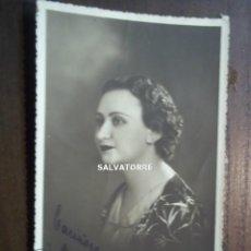Fotografía antigua: FOTO POSTAL. BENITEZ. TENERIFE. CANARIAS, DEDICADA. Lote 185757882