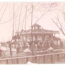 Fotografía antigua: BARCELONA. CALDETAS CALDAS DE ESTRACH. .SIN INFORMACIÓN... 1896. 11,2 X 15 CMS. . VELL I BELL. Lote 186006313