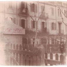 Fotografía antigua: BARCELONA. CALDETAS CALDAS DE ESTRACH. .SIN INFORMACIÓN... 1896. 11,2 X 15 CMS. . VELL I BELL. Lote 186007066