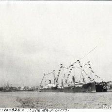 Fotografía antigua: VALENCIA 1924 VISTA DEL PUERTO. Lote 186060127