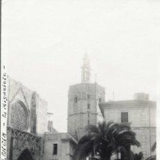 Fotografía antigua: VALENCIA 1924 EL MIGUELETE. Lote 186060272