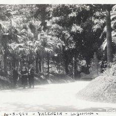 Fotografía antigua: VALENCIA 1924 LA GLORIETA. Lote 186060452