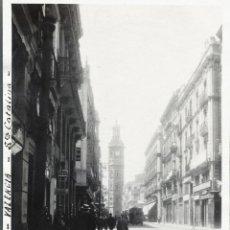 Fotografía antigua: VALENCIA 1924 STA. CATALINA. Lote 186060545