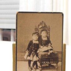 Fotografía antigua: FOTOGRAFÍA POST MORTEM DE NAL, CHICANO Y L. HERNÁNDEZ. CÁDIZ. SIGLO XIX. 16,5X10,5CM. INF. 8 FOTOS. Lote 186066981