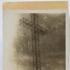 Fotografía antigua: ALCOY CRUZ DE SAN CRISTOBAL. Lote 186067353