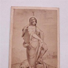 Fotografía antigua: ANTIGUA FOTOGRAFÍA ALBUMINA. SAN ROQUE. FOTÓGRAFO RAFAEL ROCAFULL (CÁDIZ). Lote 186082036