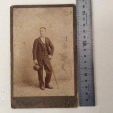Fotografía antigua: FOTOGRAFÍA COMPAÑY FUENCARRAL. Lote 187121135