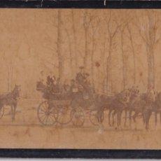 Fotografía antigua: INFANTA ISABEL DE BORBON (LA CHATA) FAMILIA Y ACOMPAÑANTES. Lote 187149896