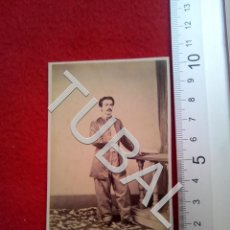 Fotografía antigua: TUBAL 1860 MILITAR MANILA HONISS ESCOLTA FOTOGRAFO FILIPINAS PHILIPPINES ALBUMINA CARTE DE VISITE. Lote 189364527