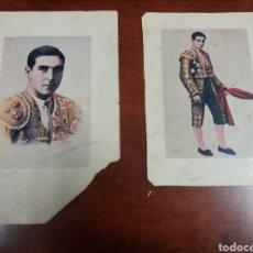 Fotografia antica: ANTONIO BIENVENIDA PEPE BIENVENIDA ,TOREROS. Lote 189397655