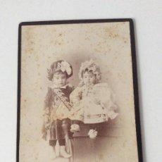 Fotografía antigua: FOTOGRAFIA DE ESTUDIO PABLO M. CHACÓN LOGROÑO. Lote 190065560