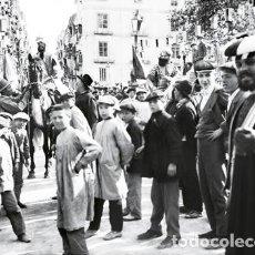 Fotografía antigua: ALCOY FIESTAS NEGATIVO DE CRISTAL. Lote 190241843