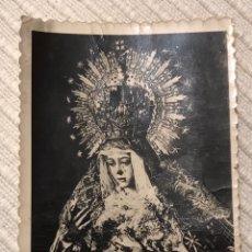 Fotografía antigua: FOTOGRAFÍA ESPERANZA MACARENA SEVILLA ORIGINAL. SEMANA SANTA SEVILLA. COLECCIONISMO. Lote 206187426