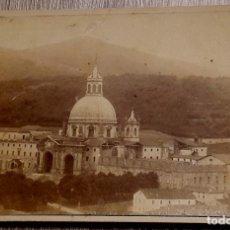 Fotografía antigua: CONVENTO DE SAN IGNACIO DE LOYOLA - GUIPUZCOA - 1884 . Lote 190639431