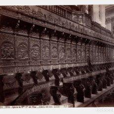 Fotografía antigua: ZARAGOZA - 1751. IGLESIA DE NUESTRA SEÑORA DEL PILAR, FOTO: J. LAURENT. 24,6X34 CM.. Lote 190717598