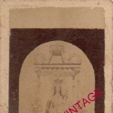 Fotografía antigua: AZUAGA, BADAJOZ, SIGLO XIX, RARISIMA ALBUMINA NTRA.SRA.DE LAS MERCEDES, 4X8 CMS. Lote 190760765